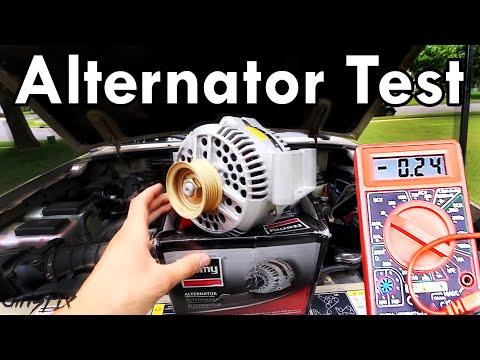 How to Test an Alternator