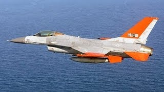 getlinkyoutube.com-Boeing - QF-16 Unmanned Fighter Full Scale Aerial Target First Flight [720p]