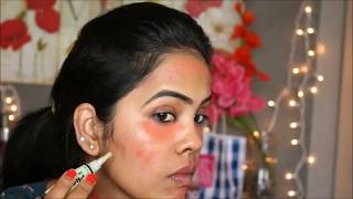 getlinkyoutube.com-Color Correction to get Flawless skin/L.A. Girl HD Pro Concealer/Indian Uneven Skin