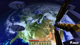 getlinkyoutube.com-Minecraft Astromod: Primeira Vaquinha no Espaço