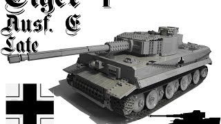 getlinkyoutube.com-Lego Tiger I Ausf. E 1/15 (RC)