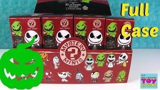 getlinkyoutube.com-Funko Nightmare Before Christmas Mystery Minis Full Case Unboxing | PSToyReviews