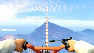 getlinkyoutube.com-98% IMPOSSIBLE BMX BIKE RACE! (GTA 5 Funny Moments)