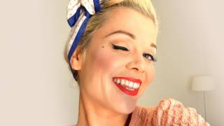 getlinkyoutube.com-Vintage makeup - The Classic Pinup