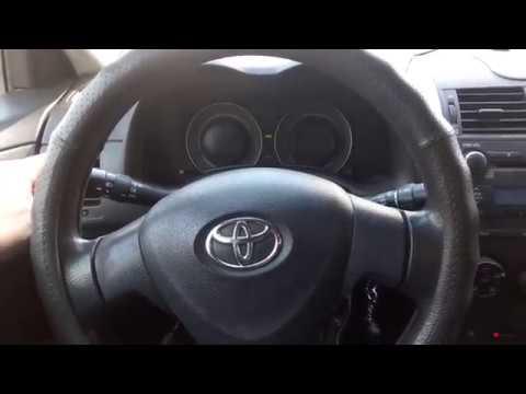 Toyota Corolla. Отключение зуммера открытой двери.