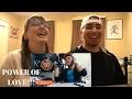 MOM & SON REACTION! Marcelito Pomoy sings Power of Love Celine Dion