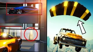 getlinkyoutube.com-GTA ONLINE: IMPORT/EXPORT HIDDEN DETAILS & SECRET INFO - Car Parachutes, Amphibious Vehicles & MORE