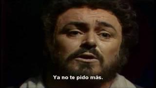 El elixir del amor, una furtiva lagrima- Luciano Pavarotti, Subtitulado al Español