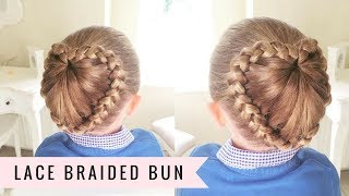 getlinkyoutube.com-Lace Braided Bun by SweetHearts Hair Design