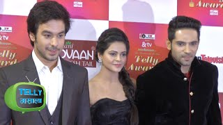 Dhruv Sings for Thapki On Red Carpet | Indian Telly Awards 2015