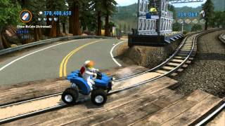 getlinkyoutube.com-LEGO City Undercover 100% Guide - Fort Meadows (Overworld Area) - All Collectibles