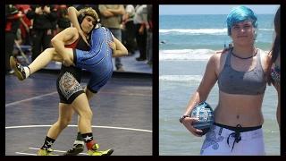 getlinkyoutube.com-Transgender Boy Wrestles On The Girl's Team - Unfair?