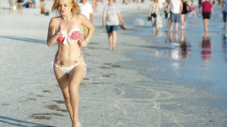 getlinkyoutube.com-Siesta Beach Beautiful Bikini Girls