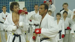 getlinkyoutube.com-Christophe Pinna - kumite training (part1)