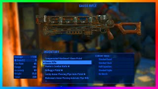 getlinkyoutube.com-Fallout 4 Loot Room Location With RARE Gear, Power Armor & Powerful Guass Rifle! (Fallout 4)
