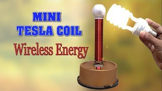 getlinkyoutube.com-How to make Tesla Coil at home - Wireless Energy Transmission - DIY Homemade Mini Tesla Coil