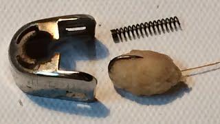 getlinkyoutube.com-Fishing Life Hacks(8)How easy Placing the powder primer on very small hooks - Mồi bột trên lưỡi câu
