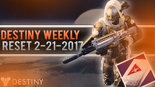 getlinkyoutube.com-Destiny Weekly Reset! Crucible Package Farming Week Again! (Tyra Has Decent Rolled Artifacts)