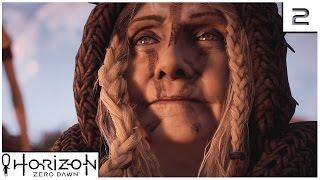 Horizon Zero Dawn - Ep 2 - IN HER MOTHERS FOOTSTEPS - Let's Play Horizon Zero Dawn Gameplay PS4 Pro