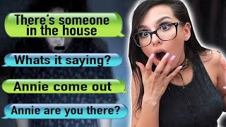 THE CREEPIEST TEXT EVER | annie96 is typing Reaction