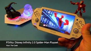 getlinkyoutube.com-PSVita: Disney Infinity 2.0 - Spider-Man Play Set