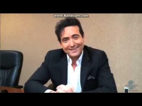 Carlos Marin (Il Divo) - Entrevista México 8-12-2014
