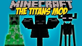 getlinkyoutube.com-THE TITANS MOD - Los Mobs mas Gigantes de minecraft! - Minecraft mod 1.8 Review ESPAÑOL
