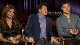 Son of God Official Trailer & Cast Interview: Diogo Morgado, Roma Downey, and Mark Burnett