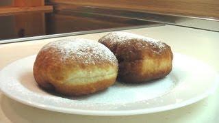 getlinkyoutube.com-Пончики с повидлом видео рецепт ( Donuts with jam) English subtitles