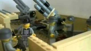 getlinkyoutube.com-Lego WW2 - Battle of El Alamein