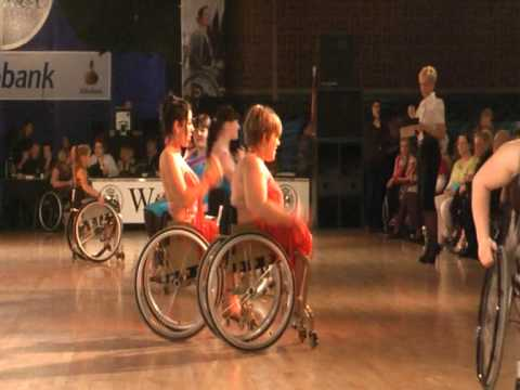 World Cup Cuijk 2010 - Wheelchair dance sport