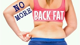 getlinkyoutube.com-GET RID OF BACK FAT FAST | 5 Quick Easy Exercises | Cheap Tip #229