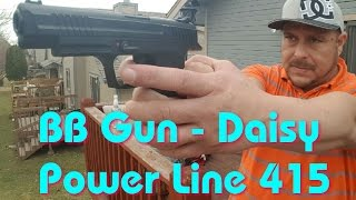 Daisy Power Line 415 - Steel Airgun Shot - 495 FPS