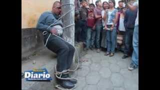 getlinkyoutube.com-Cuatro asaltantes se salvan de morir linchados en Tactic, Alta Verapaz