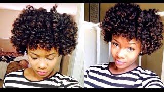 getlinkyoutube.com-Natural Hair Perm Rod Tutorial | Loveisbellaaa
