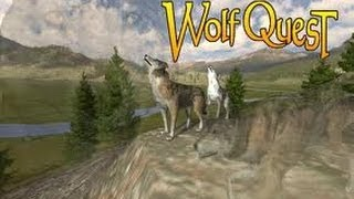 getlinkyoutube.com-Wolf Quest: Ep2 - Grizzly Bears are chasing me!