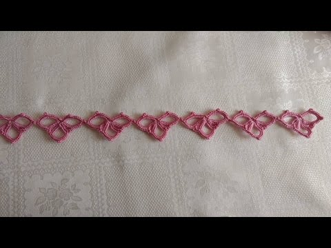 Puntilla en crochet - ideal para - tiara - cordon - cuello - mantas para bebe - crochet viral