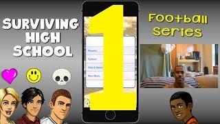 getlinkyoutube.com-Surviving High School Football Star Series iPhone Gameplay Walkthrough (Episode 1)