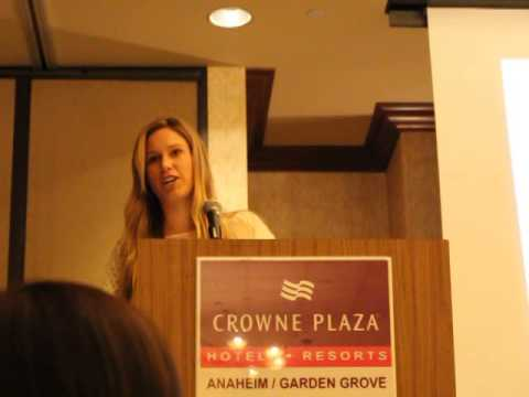 2014 Big West Scholar-Athlete of the Year Banquet Speech
