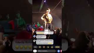 MUST WATCH: EMTEE Falls on Stage Performing. width=