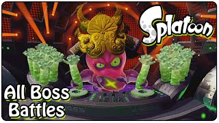 Splatoon All Bosses