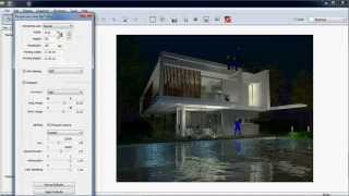 getlinkyoutube.com-Artlantis Studio Night rendering ( Silent)