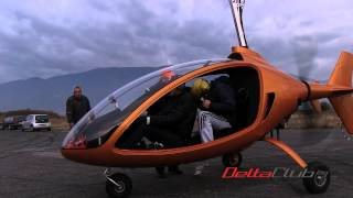 getlinkyoutube.com-Experimental Autogyro - NIKI Rotor Aviation Bulgaria