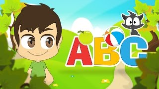 getlinkyoutube.com-Learn the English Alphabet with Zakaria | ABC Letters in English