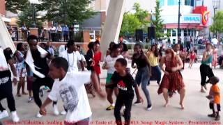 African Block Party - Dancing to Premiere Gaou by Magic Systems