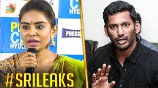 Vishal Threatened Sri Reddy ?   Sri Tamil Leaks, Casting Couch   Hot News