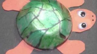 getlinkyoutube.com-Cómo hacer una tortuga con un carton de huevos - manualidadesconninos