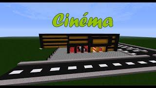 getlinkyoutube.com-Visite d'un cinéma dans Minecraft