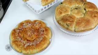 getlinkyoutube.com-شميشة : خبز بالزيتون الأسود والثوم | خبز بالجبن والفلفل الأحمر