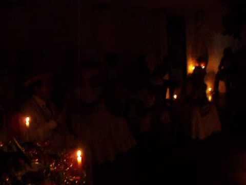 Jurema natal 04 Louvação aos Srs, Mestres 2009_001 Mestre Melqui.AVI